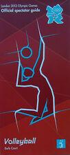 London 2012 OLIMPIADI memorabilia-mint condizione PALLAVOLO spettatore Guide