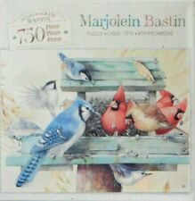 "PUZZLE - JIGSAW MB MARJOLEIN BASTIN ""QUIET MOMENTS"" BIRDS 750 PIECES - NIP!"