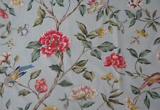 Sanderson Curtain Fabric Sissinghurst 6 Metres Eggshell/rose