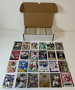lot of 500 different VIKINGS FOOTBALL CARDS ~Randy Moss,Adrian Peterson, more