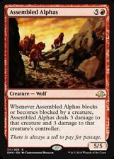 Magic MTG Eldritch Moon Rares Red - Assembled Alpha x 4