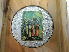 ISRAEL 1986 EVERLASTING LOVE by MOSHE CASTEL STATE MEDAL 50mm 62.2g PURE SILVER