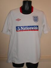 Rare England Umbro Short Sleeves Nationwide Training Shirt large men's #1126