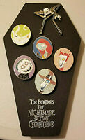 Disney NBC Nightmare Before Pins Set RARE! Jack Sally Zero Lock Shock Barrel NIB