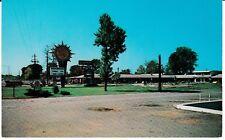 "Huntsville AL  ""The Charron Motel & Restaurant""  Postcard Alabama  *FREE US SHIP"
