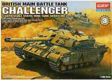 1/48 British Main Battle Tank Challenger / Academy Model Kit / #13007