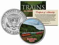 TRANS-SIBERIAN EXPRESS * Famous Trains * JFK Half Dollar Colorized U.S. Coin