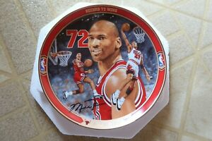 Michael Jordan Record 72 Wins - Return to Greatness Collectible Plate