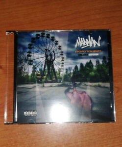 MadMan ESCAPE FROM HEART CD EFH Deluxe Edition Rap Italiano