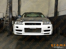 Nissan Skyline R34 Z-Tune Style Front Bumper for Body Kit, Performance V6