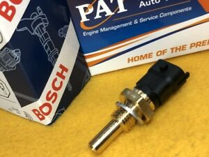 Temperature sensor for SAAB 9-3 AERO + TURBO X 2.8L 12/05-6/10 Water Bosch