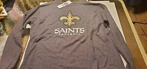 New Orleans Saints  NFL Team  Apparel Our Team shirt L
