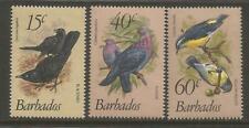 Barbados 1982 #570-2 Birds New Values Set MNH