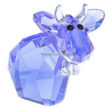 Figurine Blue Crystal & Cut Glass