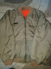 Mens Columbia XL Jacket Parka Duck Green Orange Hunting Coat