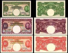 !COPY! MALAYA 5$ 1941 / 10$ 1940 / 10$ 1941 BANKNOTES !NOT REAL!