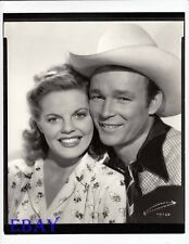 Roy Rogers Ruth Terry Photo from Original Negative Heart Of The Golden West