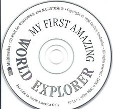 My First Amazing World Explorer Cd