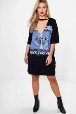 Boohoo Shirt Size Plus Dresses for Women