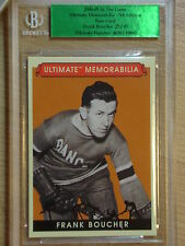 04-05 BAP-ITG ULTIMATE MEMORABILIA -  FRANK BOUCHER BASE CARD   #25/45