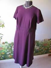 East 5th Purple Short Sleeve Women Dress Size 14W NWT
