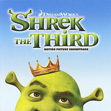 SHREK THE THIRD-MOTION PICTURE SOUNDTRACK-DREAMWORKS CD BRAND NEW