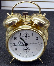 Alarm Clock- Double Bell -Mechanical -Made In Serbia