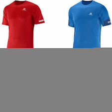Kurzarm Herren-Sport-Shirts mit Reflektoren