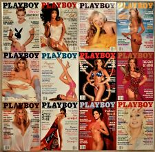 Playboy Magazines 1995 Complete Set 12 Issues