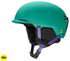 2020 Smith Optics Scout Mips Jade Block Snowboard Ski Helmet New