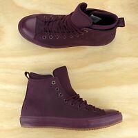 Converse Chuck Taylor All Star WP Boot Hi Top Dark Sangria Lunarlon 157458C Size