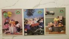 Lot 3 Cabbage Patch Kids Vintage 1984 Milton Bradley 25 Piece Jigsaw Puzzle