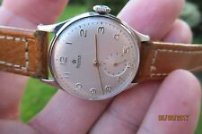 ROIDOR PRECISON RARE MOVEMENT 17JEWELS SUB SECONDS MINT BOXED SOLD IN LONDON EC4