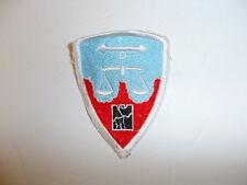 b1531 Post WW 2 US Army Nuremberg District patch Occupation R9B