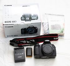 CANON EOS 60D Camera Complete In Box Body and Accessories NO LENS
