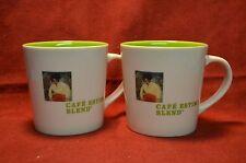 Starbucks Cafe Estima Blend Coffee Mugs (2)