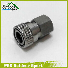 Paintball Airsoft PCP Stainless Steel Female Quick Disconnect 1/8 NPT