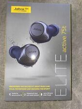 Jabra Elite Active 75t True Wireless Bluetooth Earbuds, Navy, Sealed Box,