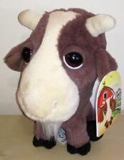 Peluche capra amici della fattoria big headz plush soft toys new idea regalo