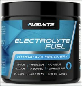 Electrolyte Pills for Hydration, Electrolytes Balance, Muscle Recovery (120 ct)