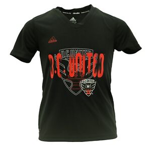 D.C. United MLS Adidas Official Girls Kids Youth Size Athletic T-Shirt New W Tag