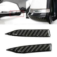 Universal Car Carbon Fiber Rearview Mirror Trim Protection Stickers Decoration