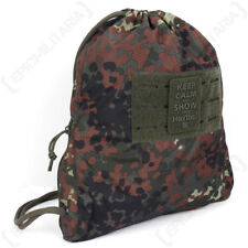 Hextac Sportsbag-Flecktarn Camuflaje-Bolsa Mochila Morral Gimnasio Escuela Ejército 7 L Nuevo