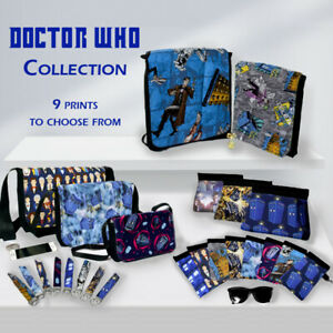 Doctor Who Collection - Bags, Backpacks, Sunglasses Cases, Key Fobs and more