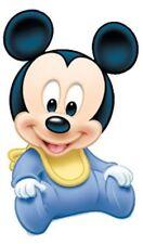 "Disney Babies, Baby Mickey Mouse Iron On Transfer 3.75""x6"" For LIGHT Fabrics"