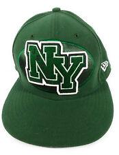 NY New York Jets Logo Baseball Style Cap Hat Green Size 7-5/8