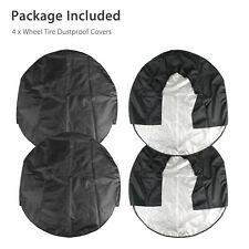 Set of 4 Wheel Tire Covers For Rv Trailer Camper Car Truck And Motor Home 32inch