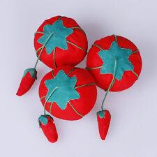 New Tomato Needle Pin Cushion Soft Material Nice Tomato Shape Safety Storage@