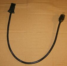 """Filter Queen Canister Vacuum  Black 19"""" Pigtail For Electric Hose Brand New."""