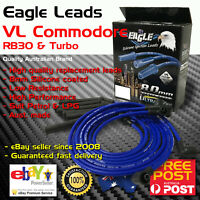 Eagle 8mm Ignition Spark Plug Leads 6cyl Fits COMMODORE 3.0L VL RB30 86-88